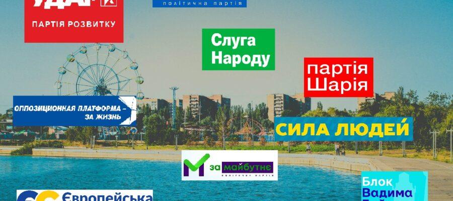 выборы в Мариуполе 2020