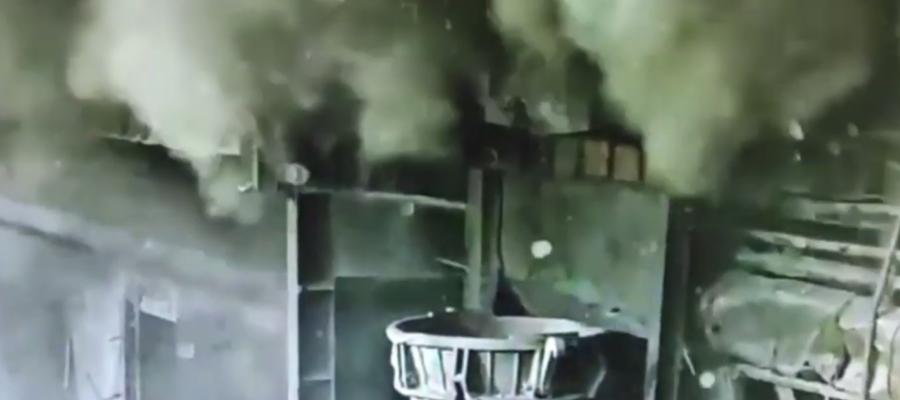 взрыв снаряда на азовстали в шихте (метинвест)