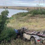 Очередное ДТП с участием грузовика, перевозящего металл Ахметова